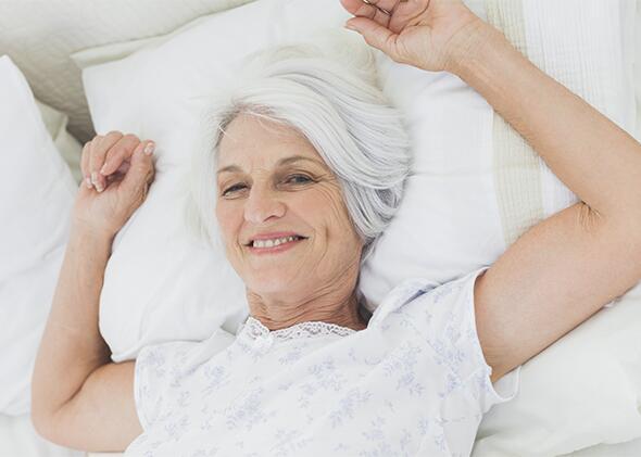 Las camas articuladas proporcionan calidad de vida en los geriátricos